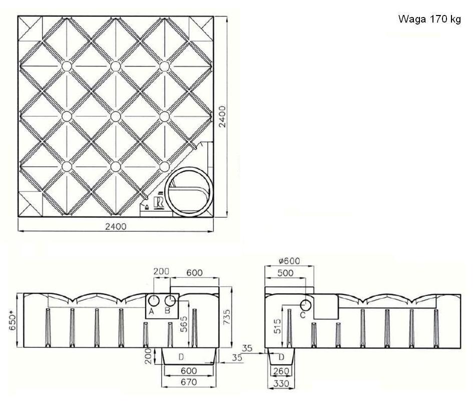 zbiorniki p askie f line rewatec. Black Bedroom Furniture Sets. Home Design Ideas